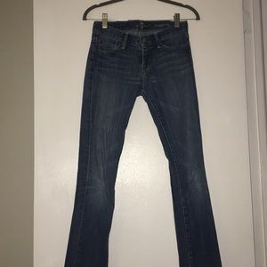 7 for all Mankind straight leg jean - size 25